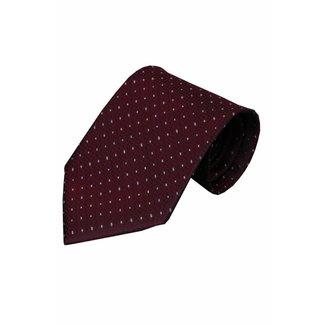 Vincelli Alberto  Red silk necktie Trasimeno 01