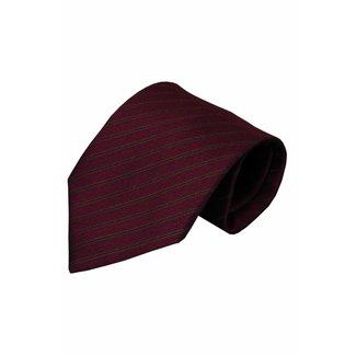 Vincelli Alberto  Red silk necktie Telve 01