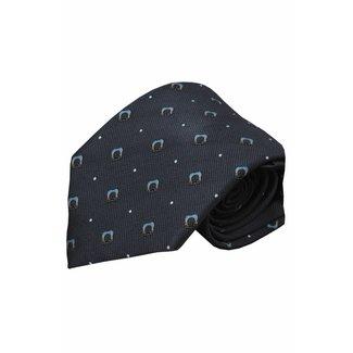 Vincelli Alberto  Gray silk necktie Bergamo 01