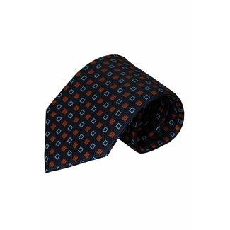 Vincelli Alberto  Blue silk necktie Odalengo 01