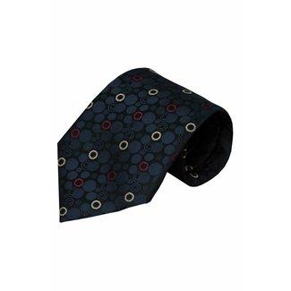 Vincelli Alberto  Blue silk necktie Brescia 01