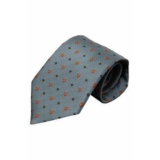 Vincelli Alberto  Gray silk necktie Valda 01