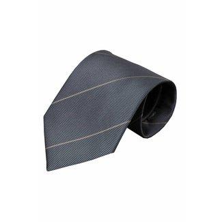 Vincelli Alberto  Grijze zijden stropdas Noto 01