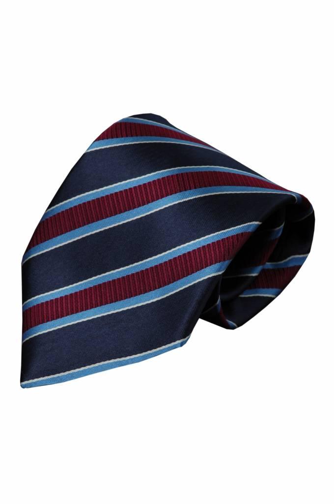 Blauwe stropdas Duronia 01
