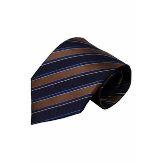 Vincelli Alberto  Blue silk necktie Sorrento 01