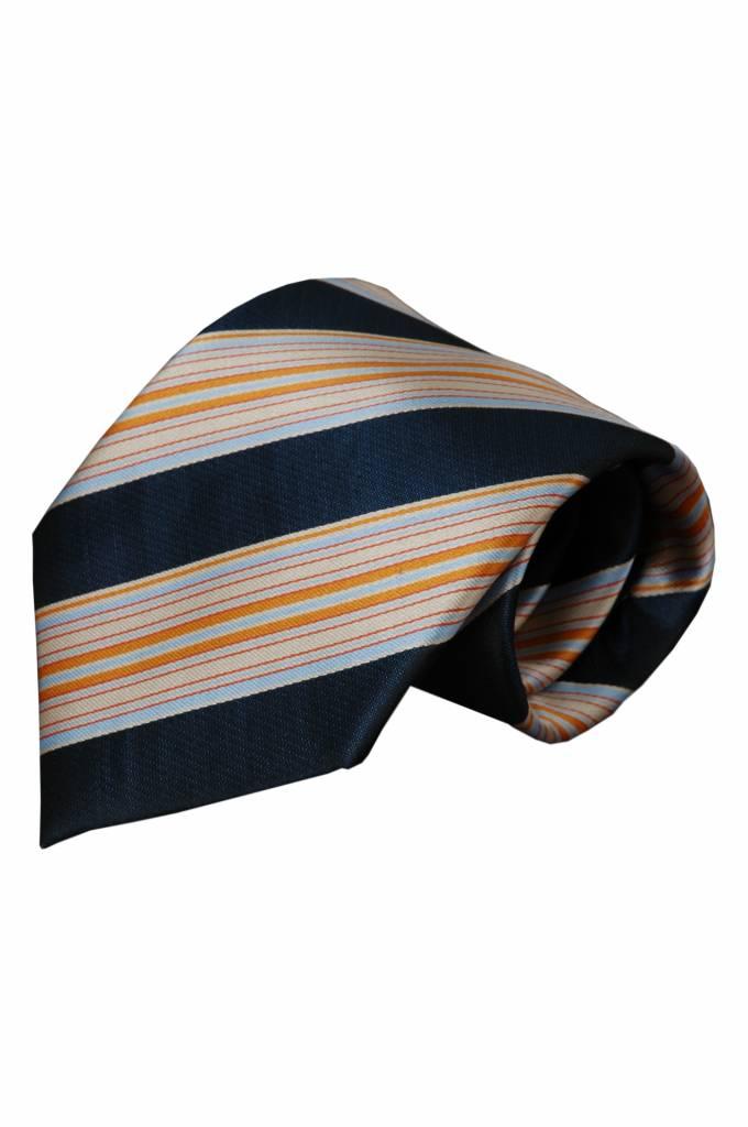 Blauwe stropdas Lecchi 01