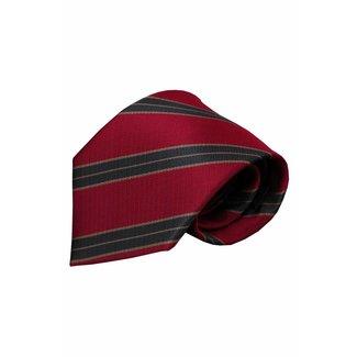 Vincelli Alberto  Red silk necktie Dura 01