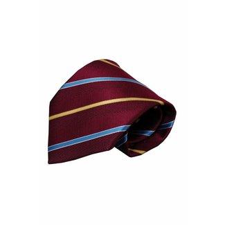 Vincelli Alberto  Red silk necktie Zerman 01