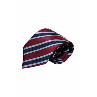 Vincelli Alberto  Red silk necktie Vairo 01