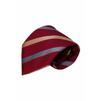 Vincelli Alberto  Red silk necktie Ufita 01