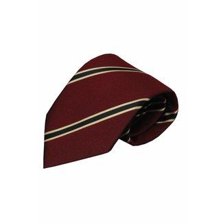 Vincelli Alberto  Red silk necktie Serra 01