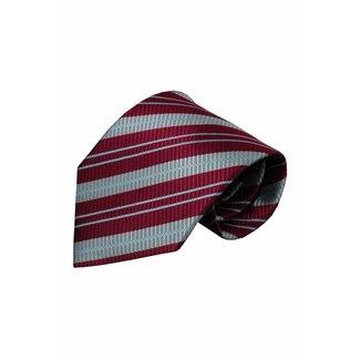 Vincelli Alberto  Red silk necktie Rimini 01