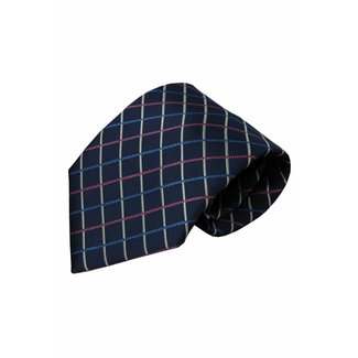 Vincelli Alberto  Blue silk necktie Garda 01
