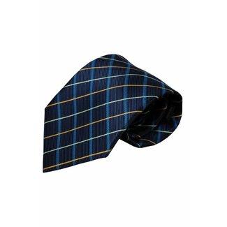 Vincelli Alberto  Blue silk necktie Ilsi 01