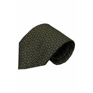 Vincelli Alberto  Black silk necktie Cattolica 01