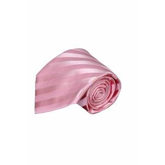 Paolo Albizzati Roze zijden stropdas PA14