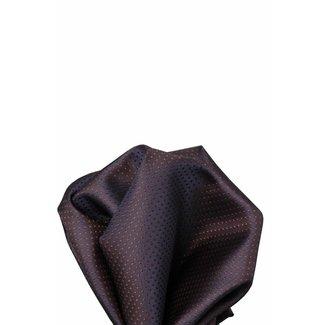 Volare Collection  Paars/bruine zijden pochet 23