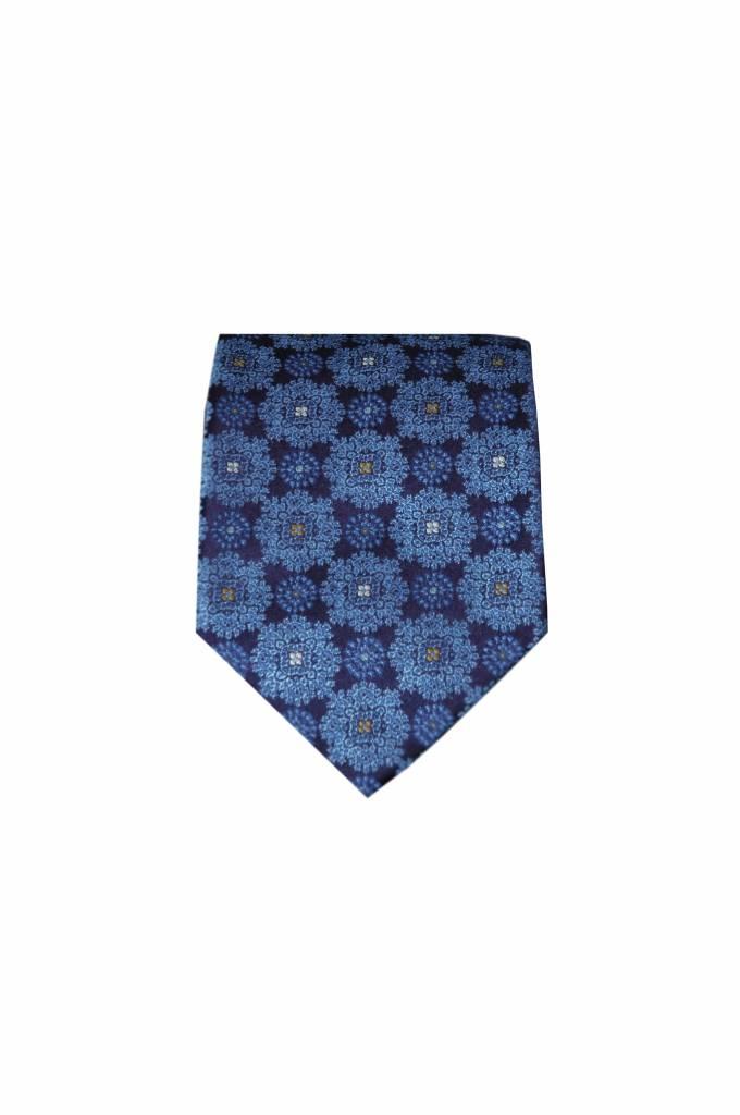 Blauwe stropdas VC41