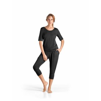 Hanro  Hanro·Yoga·lounge·top·halve·mouwen·77994