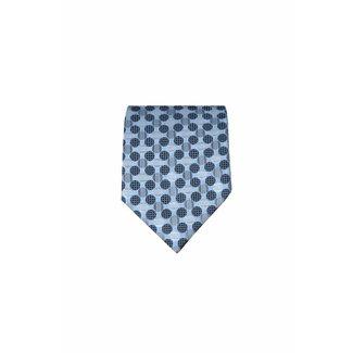 Massimo-Valeri  Blauwe stropdas M10