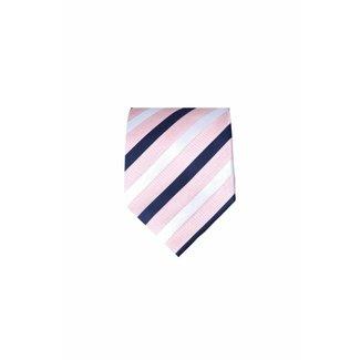 Massimo-Valeri  Roze stropdas M01