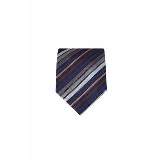 Massimo-Valeri  Blauwe stropdas M02
