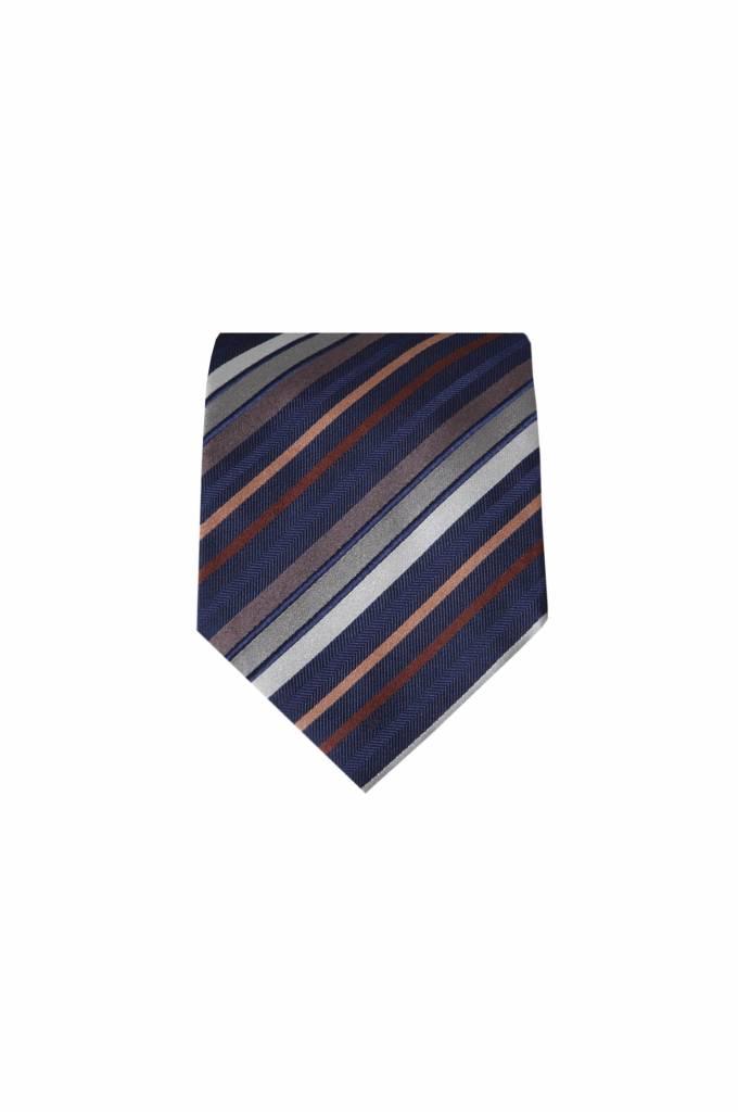 Blauwe stropdas M02