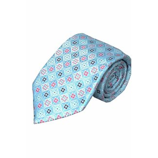 Massimo-Valeri  Blaue Krawatte V06
