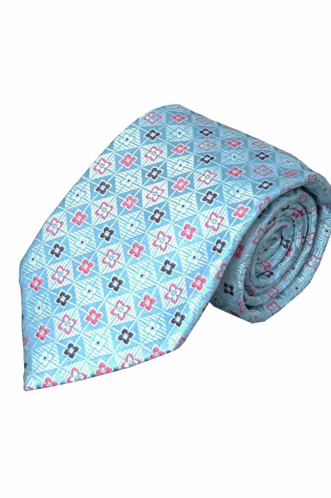 Blauwe stropdas V06
