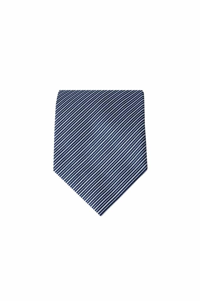 Blauwe stropdas M05