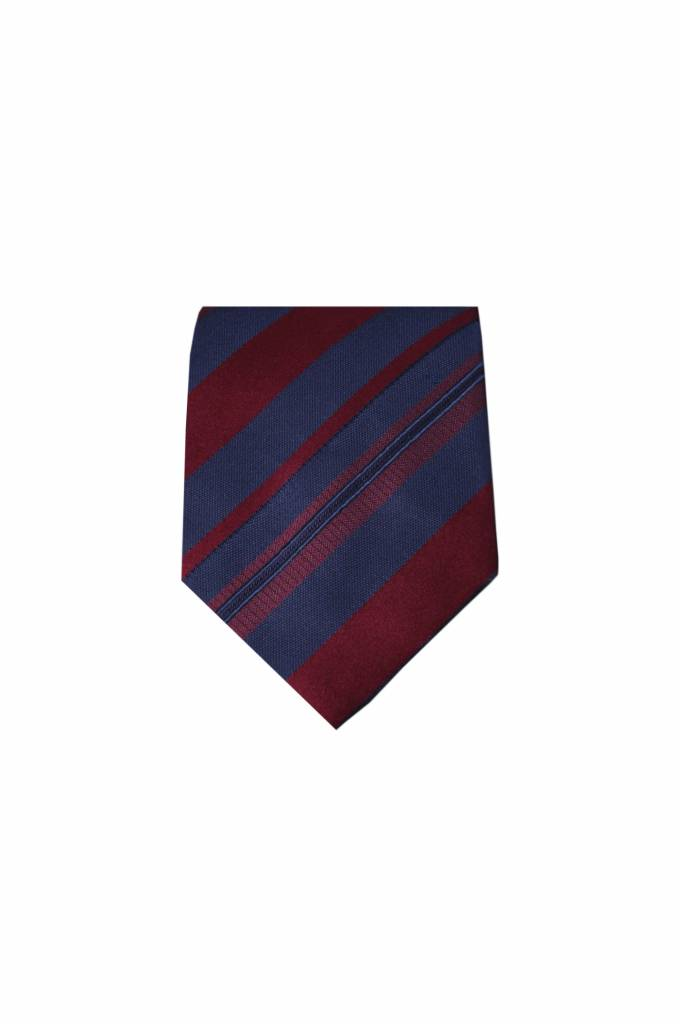 Blauwe zijden stropdas M25
