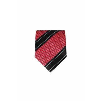 Massimo-Valeri  Rode zijden stropdas M22