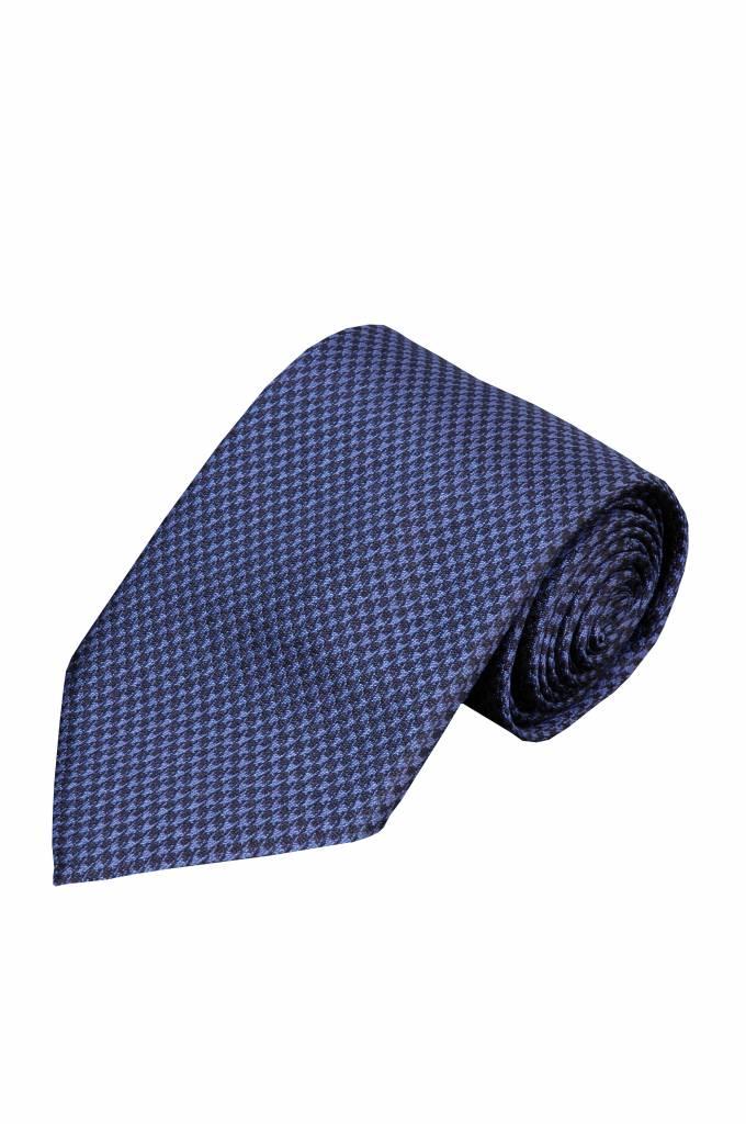 Blauwe stropdas Zelbio 126