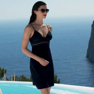 Lise Charmel Lise Charmel Ajourage Couture Beach dress  short black ASA1215B
