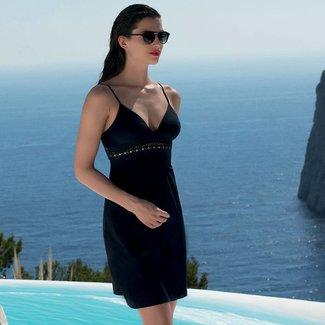 Lise Charmel Lise Charmel Ajourage Couture  Strandkleid kurz schwarz ASA1215B