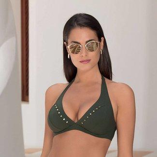 Lise Charmel Bikini top green ABA2513