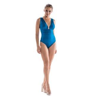 Nicole Olivier Nicole Olivier Badmode Badpak Middle blauw 5321