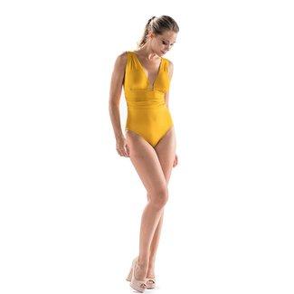 Nicole Olivier Nicole Olivier Bademode Badeanzug Middle gelb 5321