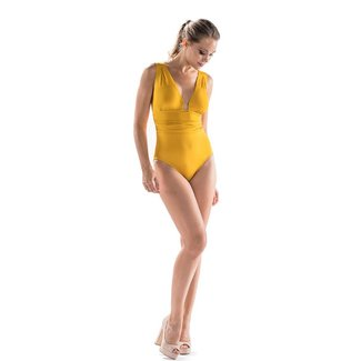 Nicole Olivier Nicole Olivier Beachwear Swimsuit Middle yellow 5321