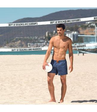 Panos Emporio Blue swim shorts Meander by Panos Emporio