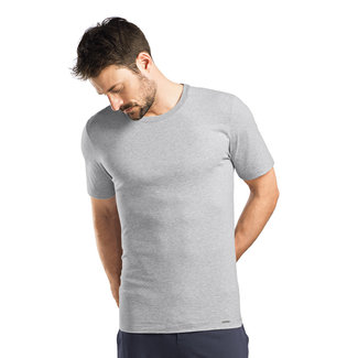 Hanro  Hanro Männer Sleep & Lounge Living  Leisure s/slv  shirt grau