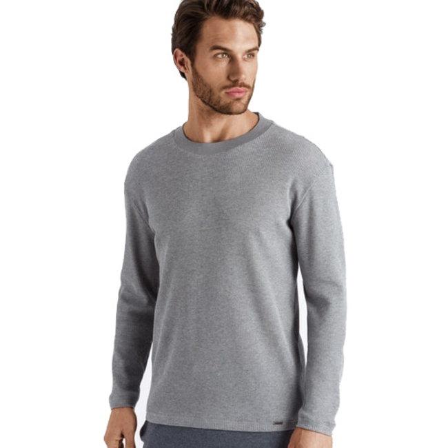 Hanro  Hanro Men Night & Day Shirt  l/slv  shirt grey
