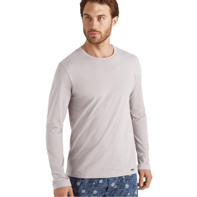 Hanro  Hanro Männer Sleep & Lounge Living Leisure l/Ä  shirt Beige