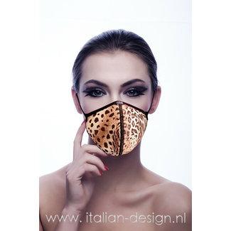 Eros Veneziani Eros Veneziani Face Mask Leopard