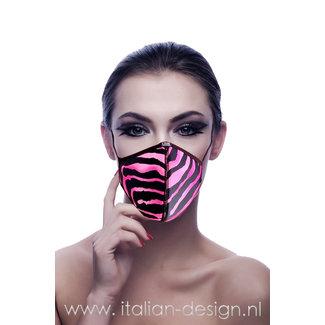 Eros Veneziani Eros Veneziani face mask Pink Tiger