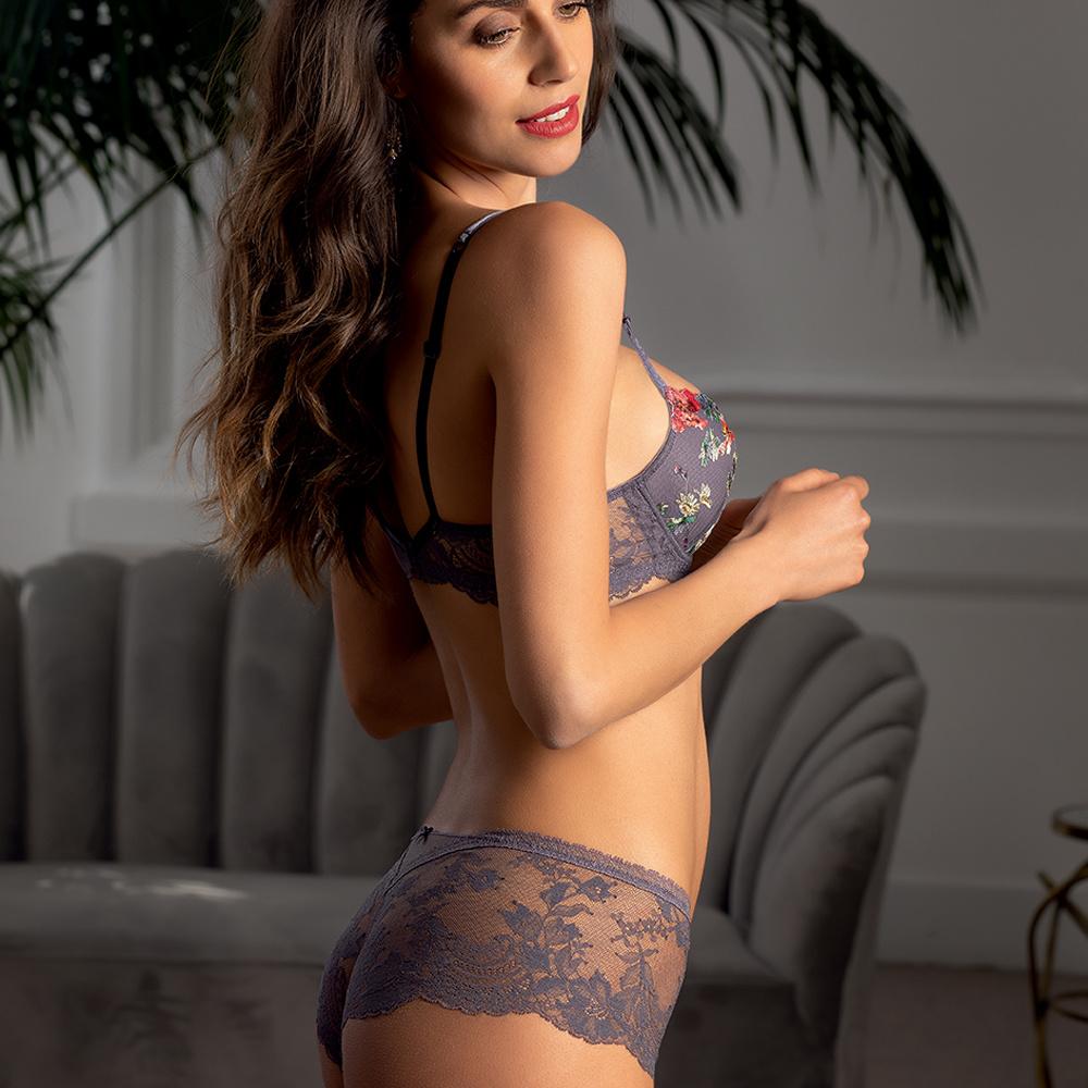 Lise Charmel lingerie Gris Orchid Shorty Enrichi lila ACG0469
