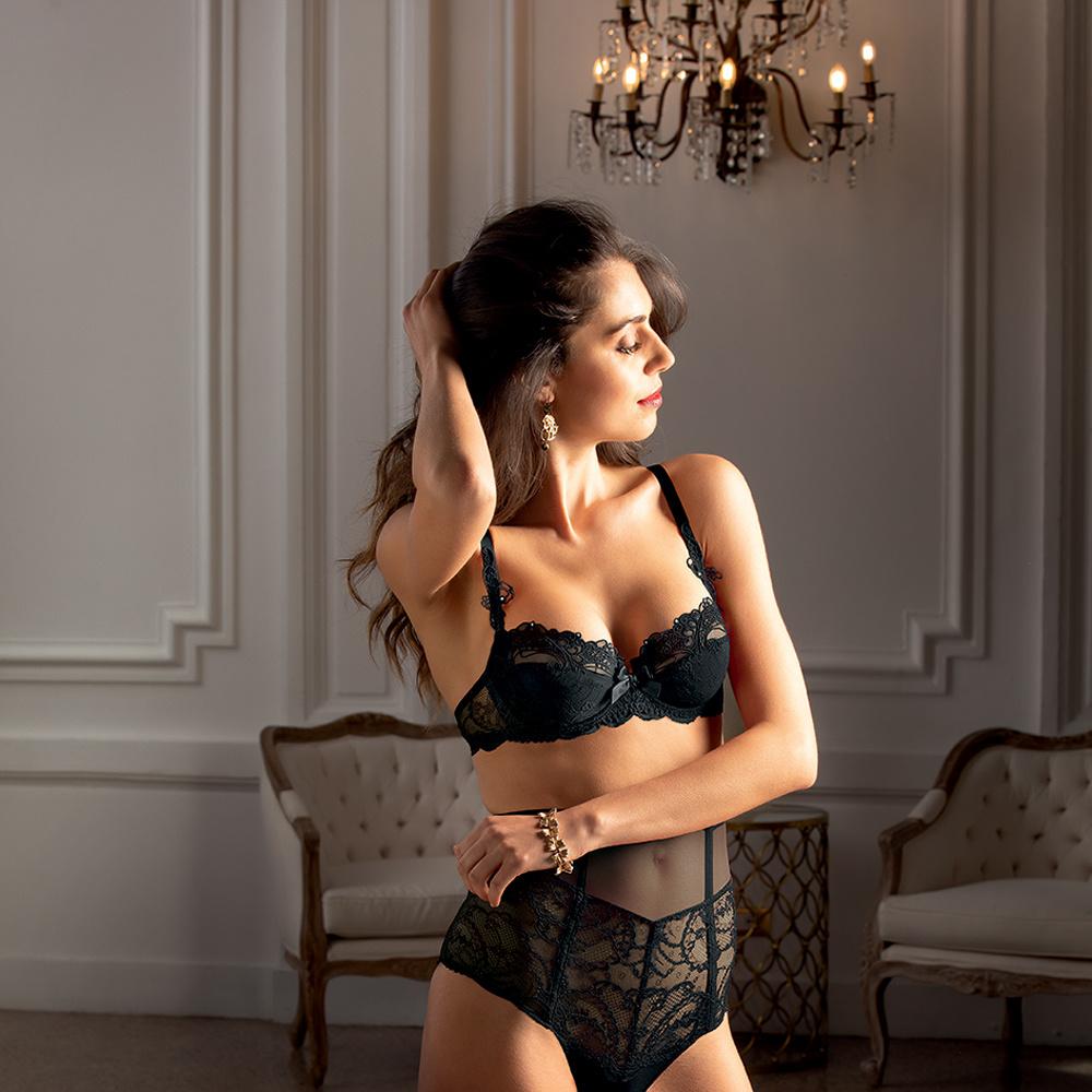 Lise Charmel lingerie Soir de Venise hoge slip retro ACA0603