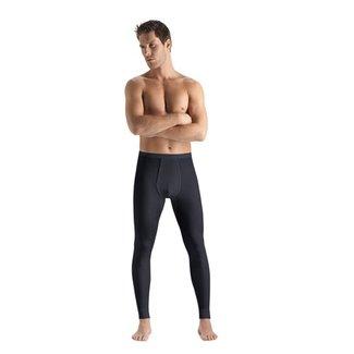 Hanro  Hanro Men ski-underwear Woolen Silk longleg grey 073412
