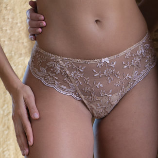 AMBRA AMBRA Lingerie Slips Camarques String Huid 1210