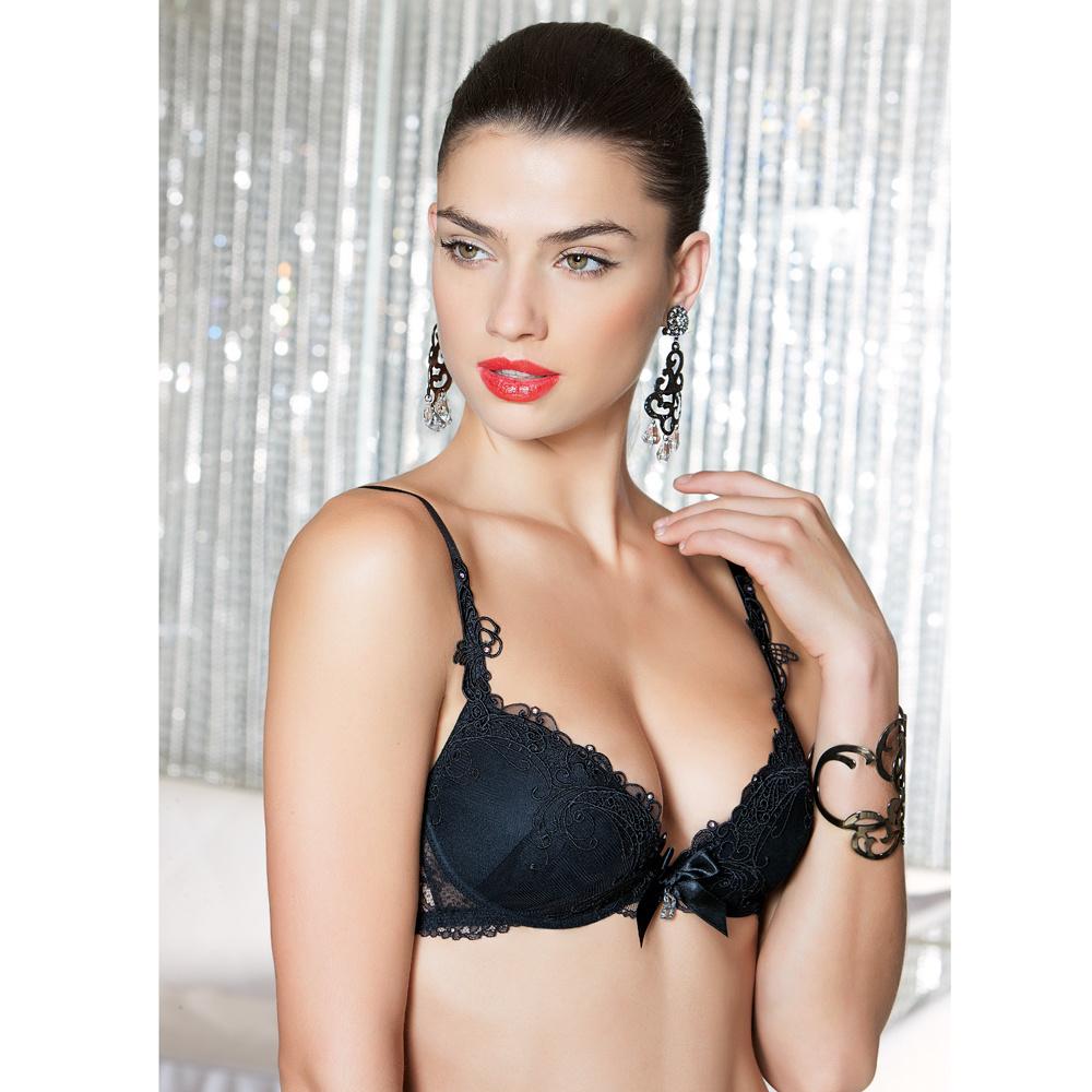 Lise Charmel lingerie Soir de Venise Voorgevormde BH ACA8103 zwart